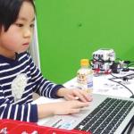 プログラミング、ロボットの動作確認